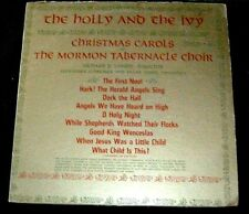 The Holly & The Ivy Mormon Tabernacle Choir LP Album - Vinyl Columbia Record