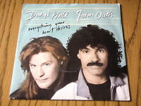 "DARYL HALL & JOHN OATES - EVERYTHING YOUR HEART DESIRES     7"" VINYL PS"