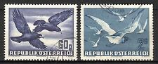 Austria - 1950 Airmail birds - Mi. 955-56 VFU
