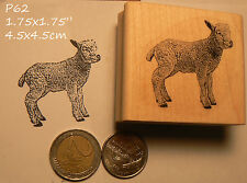 P60 Lamb rubber stamp