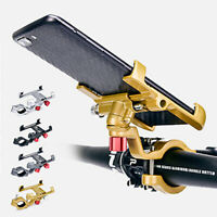 Bicycle Handlebar Aluminum Alloy Bracket Mount Stand Holder For Mobile Phone GPS
