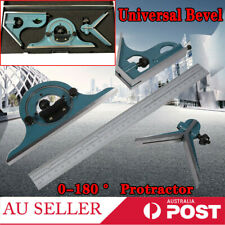 180 Degree Combination Square Protractor Set With Angle Finder Ruler measurement