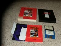 """Russian 6 Pak IBM PC Game 3.5"""" disks with box and manual"""