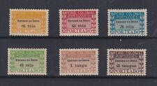 Portugal - Portuguese India B.O.B. Nice Complete Set MNH 4