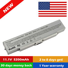 Laptop Battery for Sony Vaio PCG-7113L 11.1V VGP-BPS9/B Silver