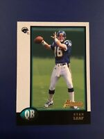 1998 Bowman # 10 RYAN LEAF ROOKIE RC San Diego Chargers !