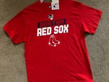 NWT! GENUINE MAJESTIC BOSTON RED SOX SHORT SLEEVE MLB SHIRT MENS XL