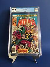 NOVA #11 CGC 9.2 WP Marvel Comics 1977 Sphinx & Powerhouse App Bronze KEY