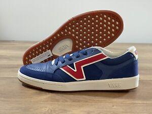 Vans Lowland CC Shoes Navy/Red Men's SZ 9 ( VN0A4TZY4H6 )