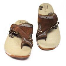 NEW Merrell Hollyleaf Womens 11 42 Toe Wrap Sandals Suede Low Heel Mesh Brown