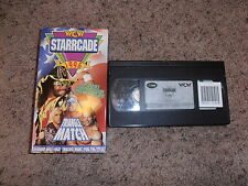 STARRCADE 1995 LABELED 1996 wcw vhs wrestling SHIP WORLDWIDE