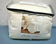 Martha Stewart flannel twin comforter cover