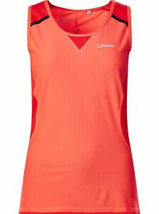 Berghaus Damen Tank Top Funktionsshirt - Super Tech Tee Vest Women Gr.M/38*NEU