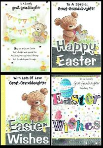 GREAT-GRANDDAUGHTER - Quality Easter card ~ Great Selection To Choose From