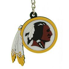 Washington Redskins Vinyl Logos Keychains Lot of 6 NIP