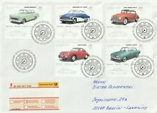 2003 Germany FDC oversize coverVintage Cars