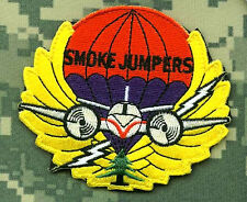 "FOREST HOTSHOT FIRE SERVICES FIRE SMOKE JUMPER FIRE FIGHTER hook/loop 3.5"" SSI"