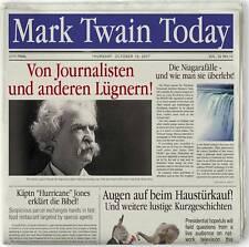 Hörbuch CD Mark Twain Von Journalisten und anderen Lügnern 2CDs
