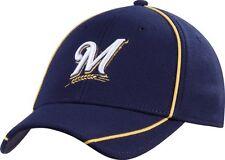 Milwaukee Brewers hat New Era flex fit new MLB Medium - Large fit Brew Crew 904980788b8a