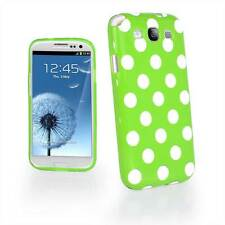Madcase Polka Dots Silicone GEL Case Cover For Samsung Galaxy S3 III i9300 i9305
