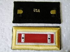 ARMY SHOULDER BOARDS STRAPS - ENGINEER CORPS WO1 FEMALE PAIR NIP
