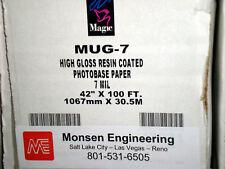"42"" Glossy Indoor Photo Reproduction Paper MUG7-R10042"