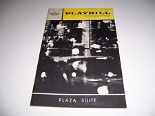 1969 THE PLYMOUTH THEATRE PLAYBILL - PLAZA SUITE - DAN DAILEY BARBARA BAXLEY