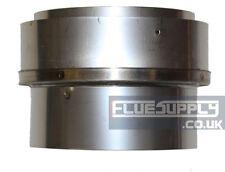 "5""- 5"" Flexible Flue Liner/ Rigid Adaptor Stainless Steel"