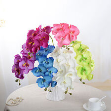 *Artificial Butterfly Orchid Silk Flower Home Wedding Phalaenopsis Bouquet Decor