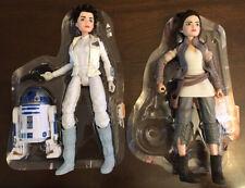 "Star Wars Forces of Destiny Destiny Princess Leia Hoth Rey Lot Doll 12"" 1/6~"