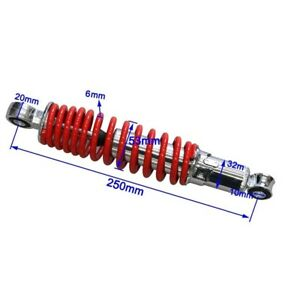 250mm Front Shock Absorber FOR TRAIL 110CC 125CC PIT QUAD DIRT BIKE ATV BUGGY