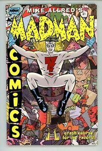 Mike Allreds's MADMAN COMICS Vol 1 1996 Crash Course For The Ravers
