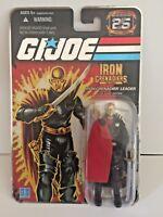 GI Joe 25th Silver Foil Iron Grenadiers Leader Destro 2007 Hasbro