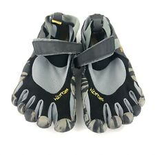 Men's Vibram FiveFingers Water Shoes Black Gray Sz EUR40 US 7