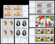United States Plate Blocks Scott 1925 / 2203 (1981-86) Mint Nh Vf, Cv $25.50 W