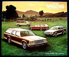 Prospekt brochure 1979 Ford Wagons LTD  Fairmont  Pinto  Club Wagon  (USA)