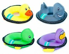 Zippypaws Floaterz Pool Dog Toys: Walrus, Duck, Shark
