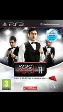 WSC Real 11: World Snooker Championship Sony PlayStation 3 **New & Sealed**