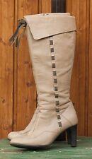 Exklusive Designerstiefel, Stiefel von Jette Joop, beige Gr 37,5, 38