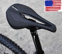 MTB road Bike TT Triathlon Training Racing Seat Saddle hollow pad 240*143mm 200g