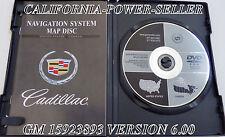 CADILLAC DEVILLE SEVILLE XLR SRX NAVIGATION DISC DVD CD 15923893 DISK GM GPS