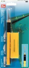 Prym Ziehmesser + 3 Spezial - Ersatzklingen Patchwork Messer Cutter  611395