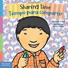 Sharing Time/Tiempo para Compartir by Elizabeth Verdick (Boardbook, 2016)