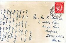 Genealogy Postcard - Family History - Tomlinson - Bracknell - Berkshire  782A