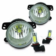 For 10-15 Dodge Journey Fog Light Replacement Set w/High Power COB LED Bulbs