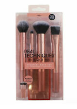 Real Techniques Flawless Base Brush Set - Foundation & Concealer w/Storage
