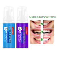 Dent Dentifrice Dents Blanchissant Mousse De Nettoyage 60mL Supprimer Dents