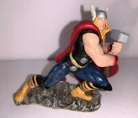 """2011 Marvel Thor Small Plastic Figure Statue 3"""""""