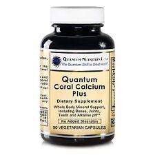 Quantum Coral Calcium Plus, 90 Capsules - pH Alkalinizing Formula and Whole B...