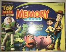 Preschool Toy Story And Beyond Memory Matching Game 2001 Ages 3 to 6+ J